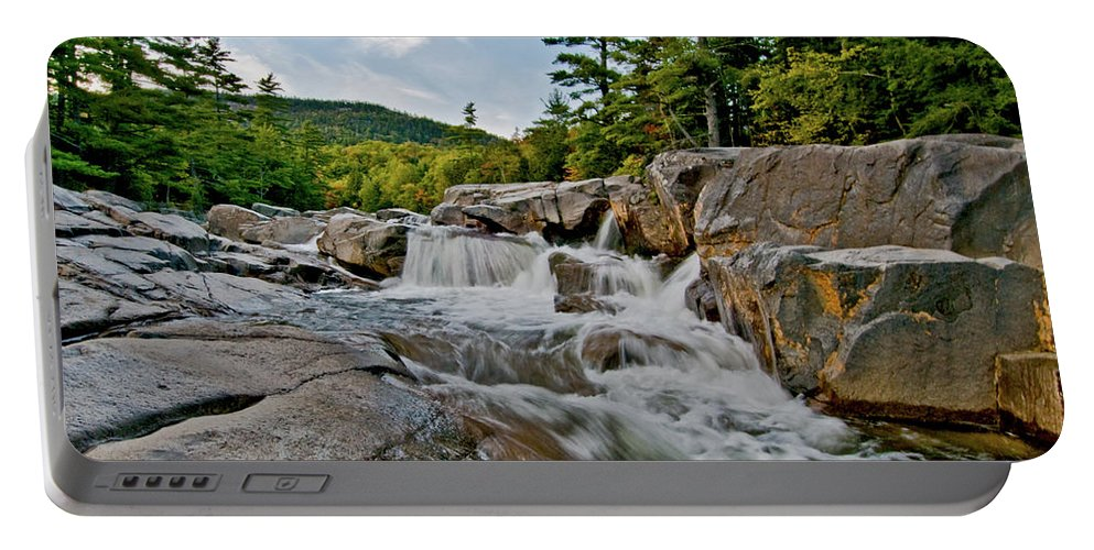 lower Falls Portable Battery Charger featuring the photograph Natural Masterpiece by Paul Mangold
