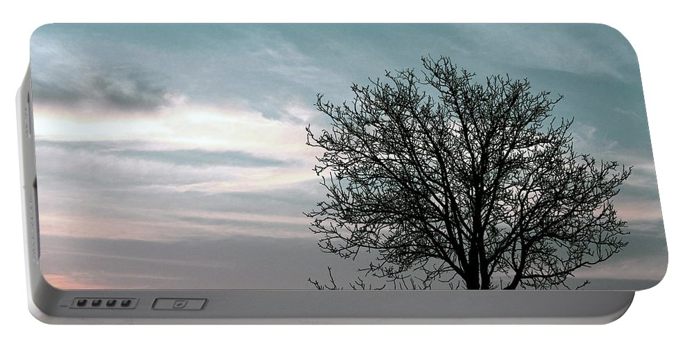 Nature Portable Battery Charger featuring the photograph Nature - Early Sunrise by Munir Alawi
