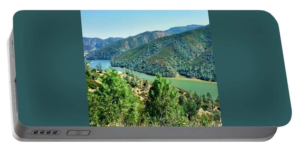 Landscape Portable Battery Charger featuring the photograph Nature by Shannon Elizabeth