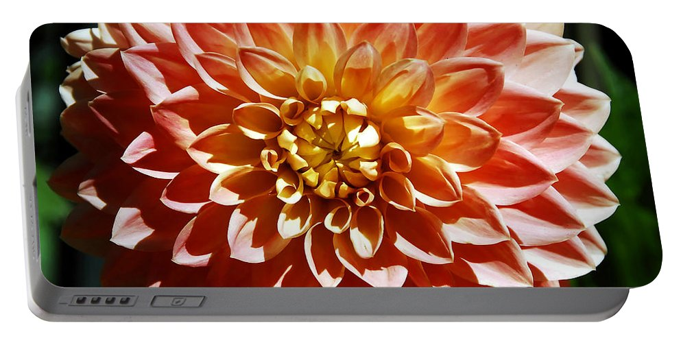Flower Portable Battery Charger featuring the photograph Nature's Brilliance by David Lee Thompson