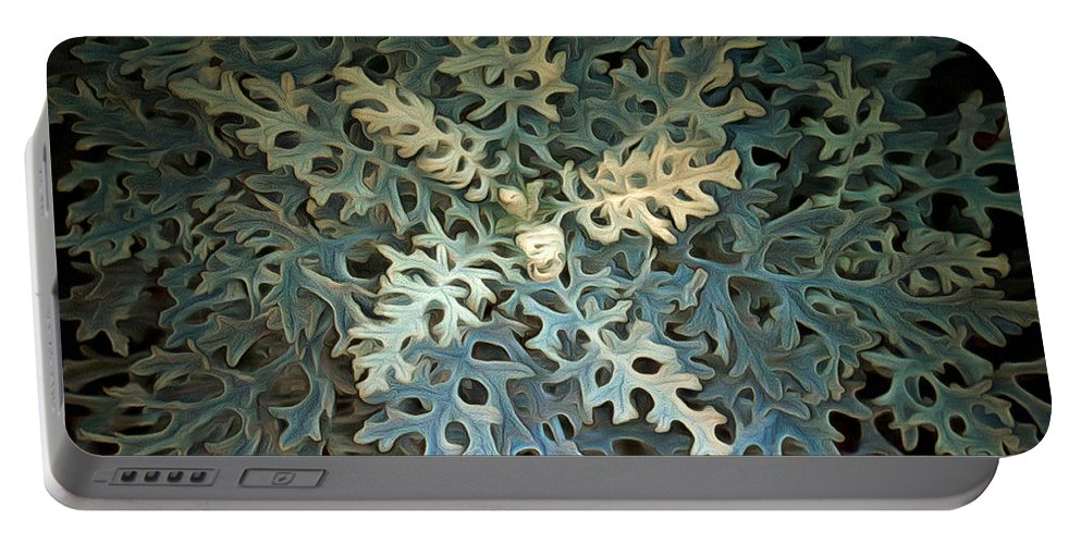 Plant Portable Battery Charger featuring the photograph Nature's Glow II by Linda Koelbel
