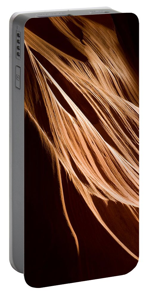 3scape Photos Portable Battery Charger featuring the photograph Natures Lines by Adam Romanowicz