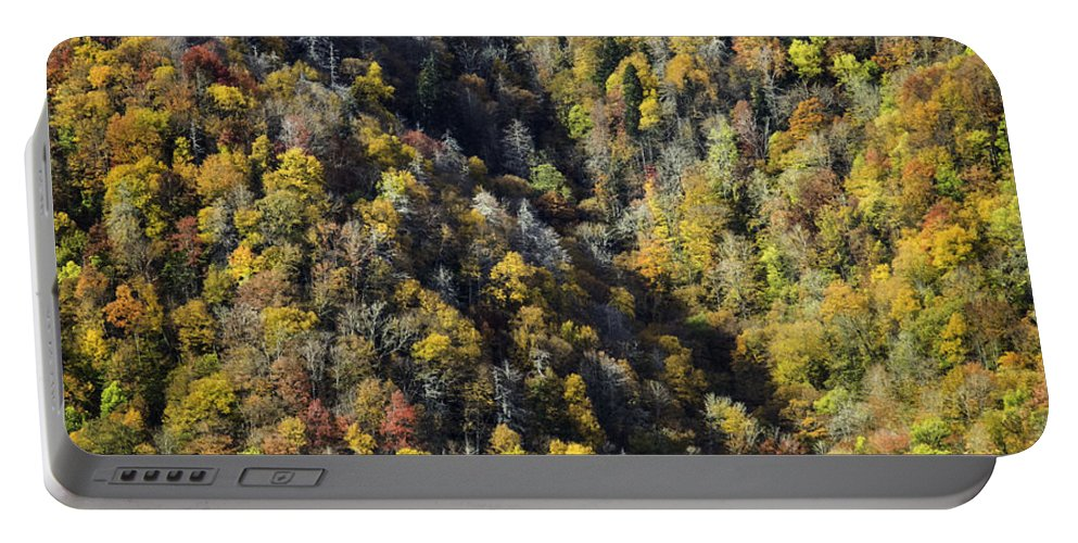 Great Portable Battery Charger featuring the photograph Nc Fall Foliage 0544 by Bob Neiman