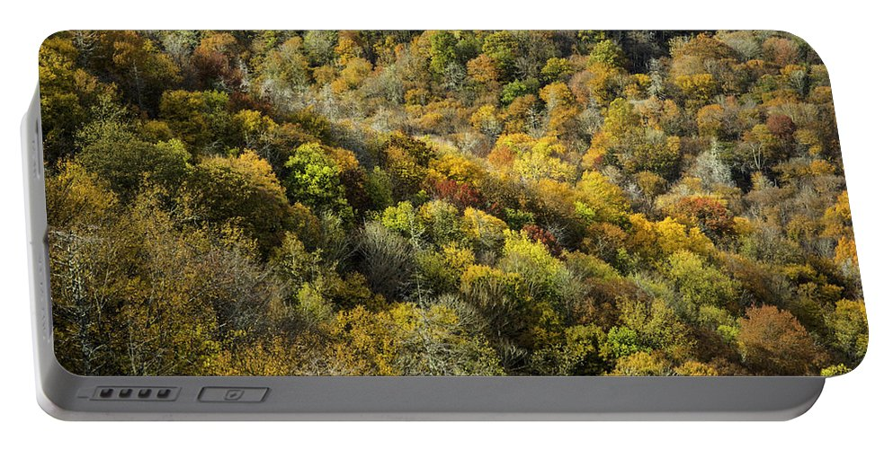 Great Portable Battery Charger featuring the photograph Nc Fall Foliage 0545 by Bob Neiman