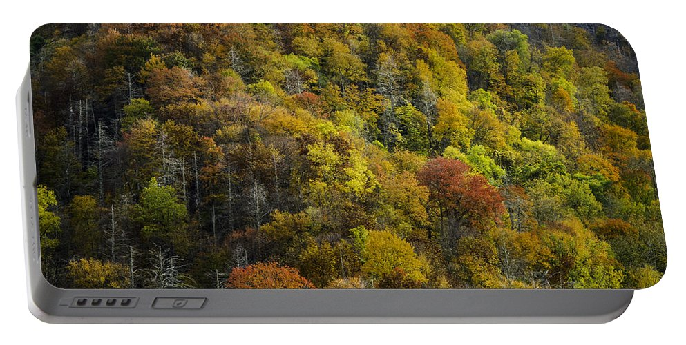 Great Portable Battery Charger featuring the photograph Nc Fall Foliage 0559 by Bob Neiman
