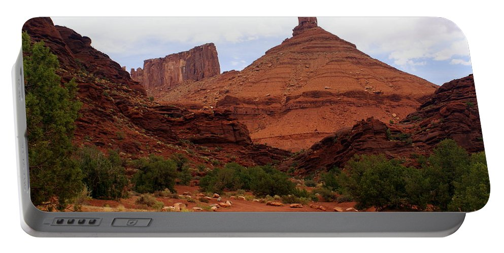 Moab Portable Battery Charger featuring the photograph Near Moab 5 by Marty Koch