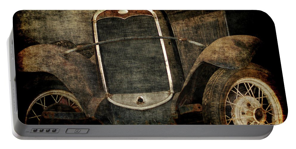 Old Fords Portable Battery Charger featuring the photograph Needs Help by Ernie Echols