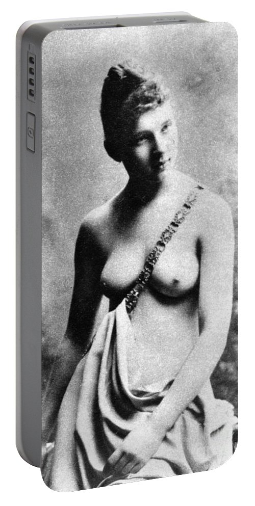 19th Century Portable Battery Charger featuring the photograph Neoclassical Nude by Granger