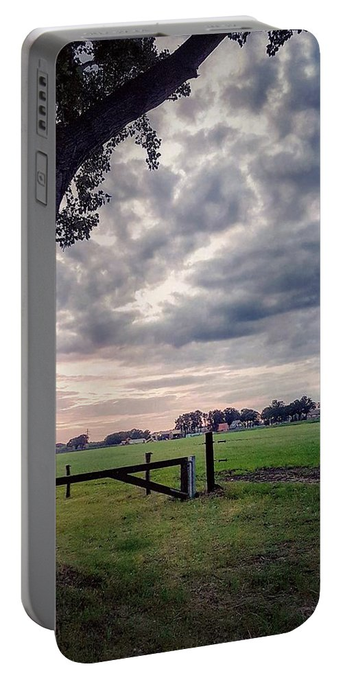 Landscape Portable Battery Charger featuring the photograph Never Lose Hope by Kim Huiskes