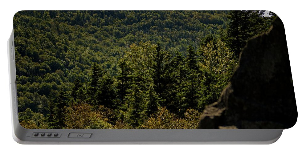white Mountains Portable Battery Charger featuring the photograph New Hampshire by Paul Mangold