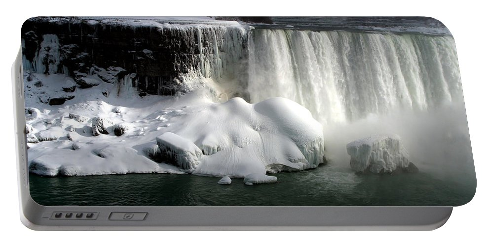 Landscape Portable Battery Charger featuring the photograph Niagara Falls 6 by Anthony Jones