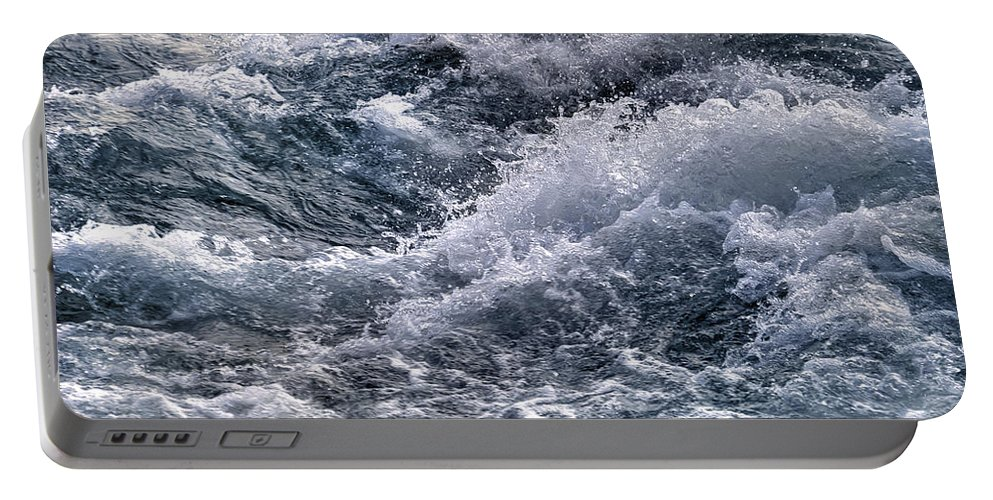 Rapids Portable Battery Charger featuring the photograph Niagara Falls Rapids by Tammy Wetzel