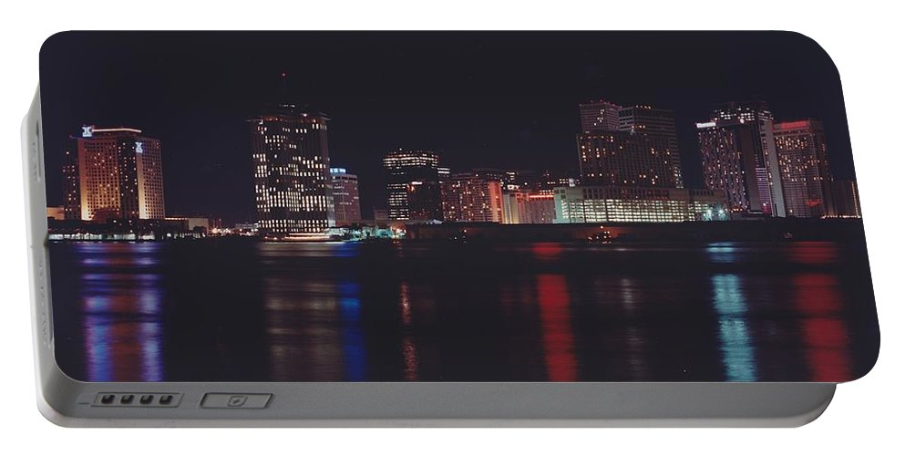 Night Scape Portable Battery Charger featuring the photograph Night Scape by Michelle Powell
