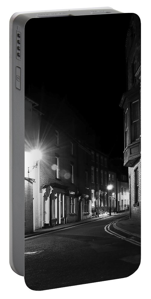 Aqua Portable Battery Charger featuring the photograph Night Time by Svetlana Sewell