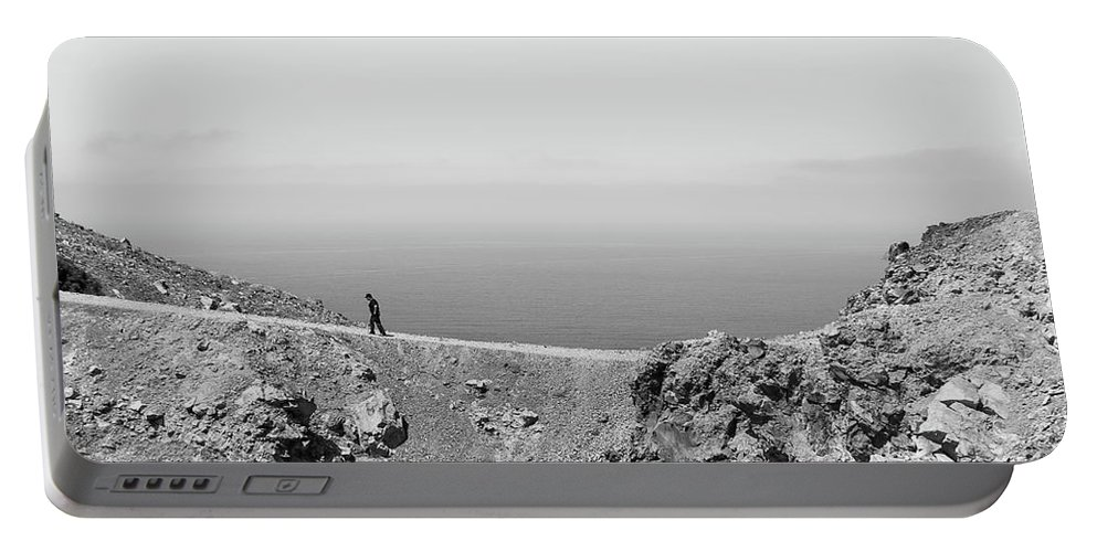 Nomad Portable Battery Charger featuring the photograph Nomad by Debra Cox