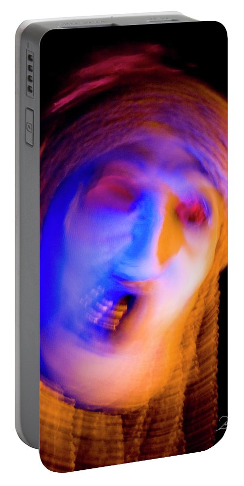 Photography Portable Battery Charger featuring the photograph Noooooo by Frederic A Reinecke