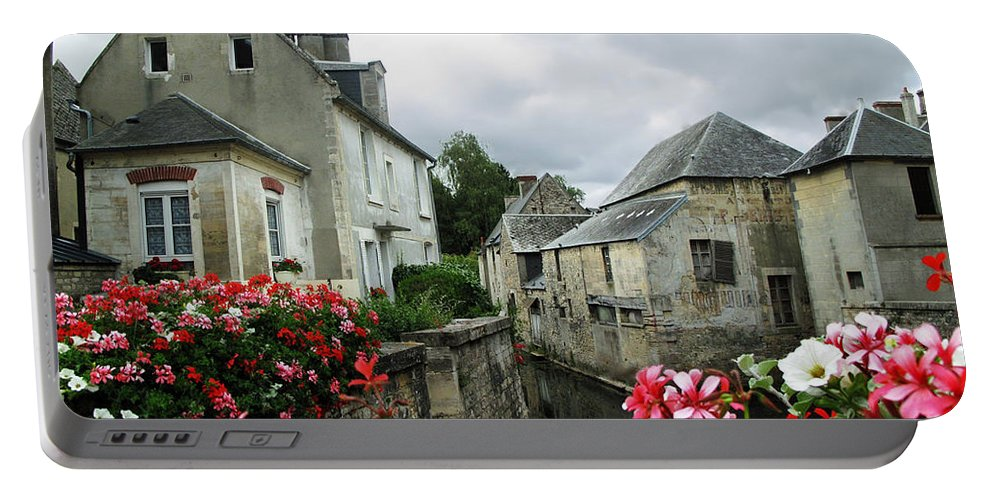 Normandy Portable Battery Charger featuring the photograph Normandy Arrival by Joan Minchak