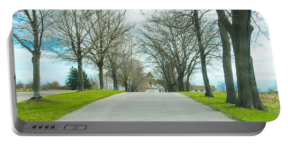 Norristown Portable Battery Charger featuring the photograph Norristown Farm Park Over The Rise by Bill Cannon