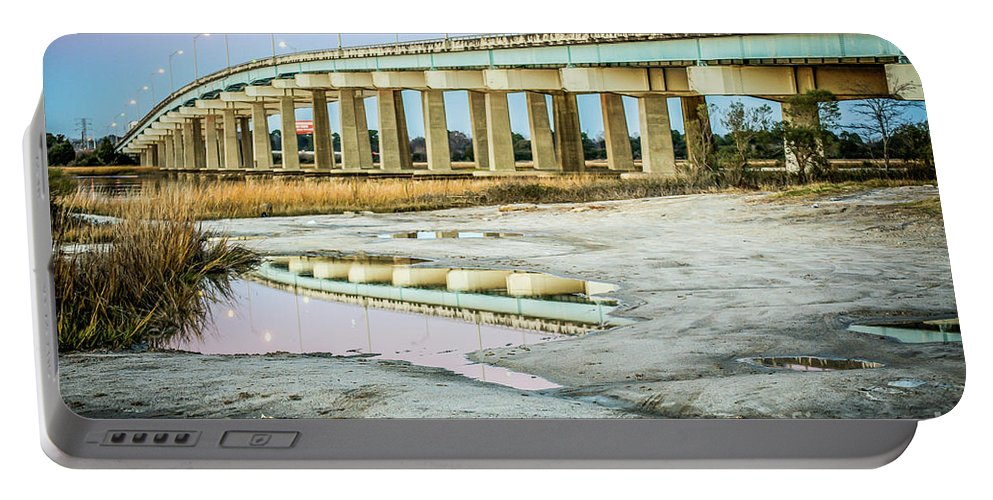 North Portable Battery Charger featuring the photograph North Bridge Park 2012 by Yvette Wilson