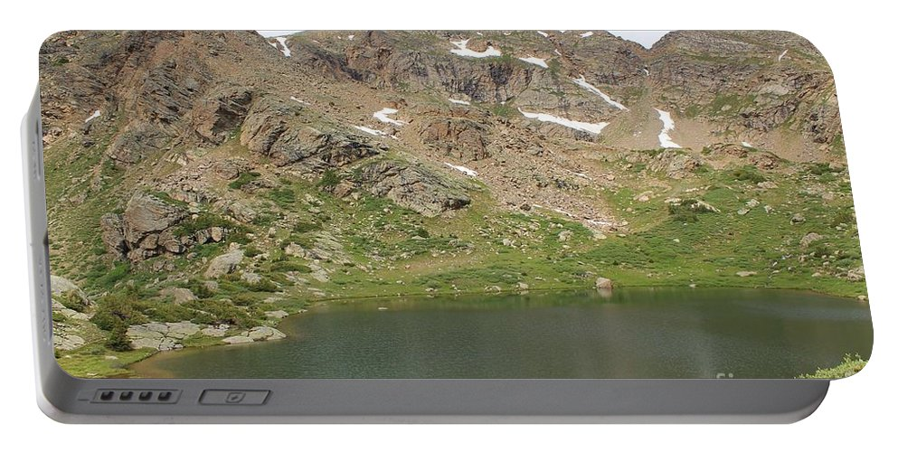 Nature Portable Battery Charger featuring the photograph North Halfmoon Lake 2 by Tonya Hance
