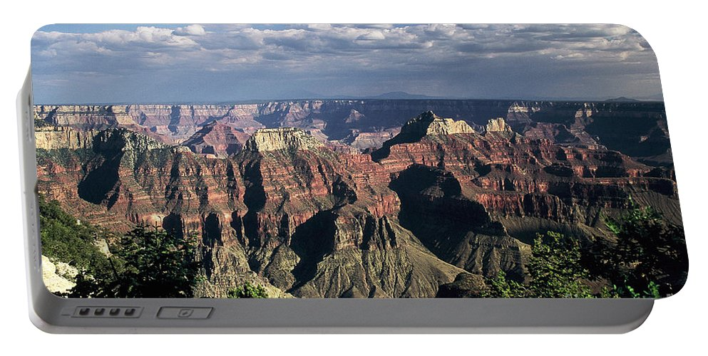 Grand Canyon; National Parks Portable Battery Charger featuring the photograph North Rim by Kathy McClure