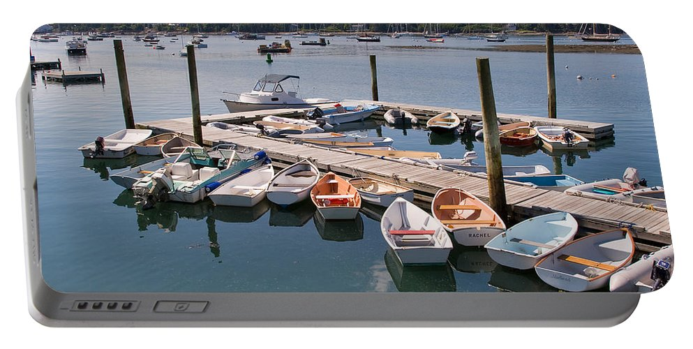 Travel Portable Battery Charger featuring the photograph Northeast Harbor Maine by Louise Heusinkveld