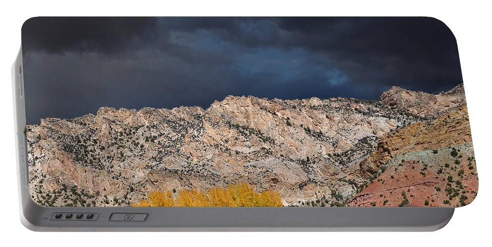 Ashley National Forest Portable Battery Charger featuring the photograph Northern Uintas Autumn by Kathleen Bishop