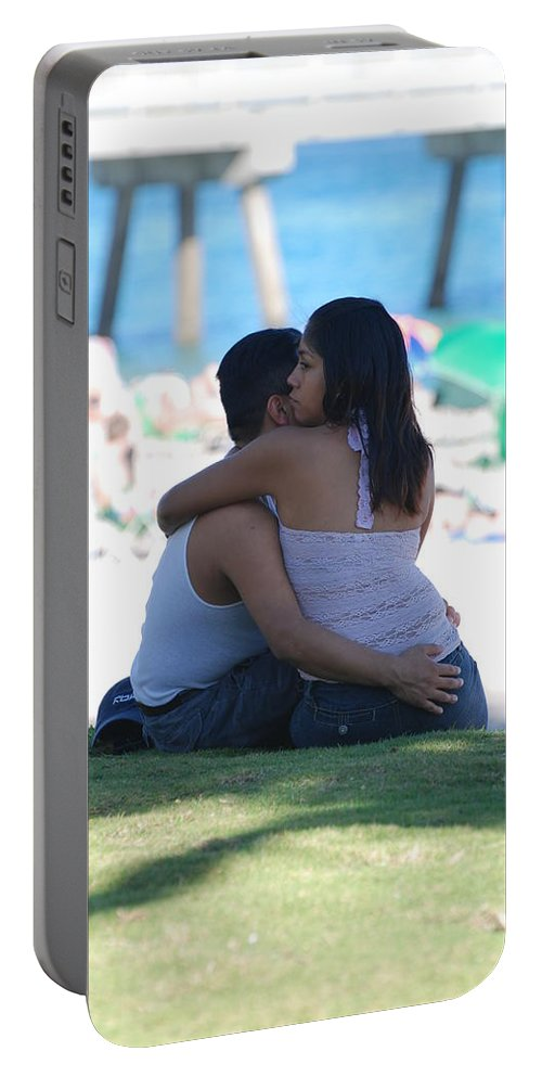 People Portable Battery Charger featuring the photograph Not Married by Rob Hans