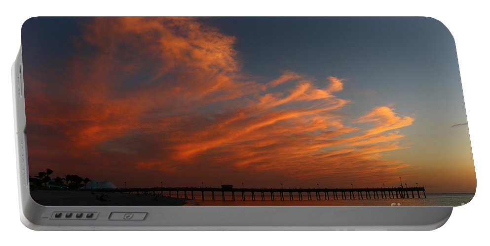 Sunset Portable Battery Charger featuring the photograph Now And Forever by Christiane Schulze Art And Photography