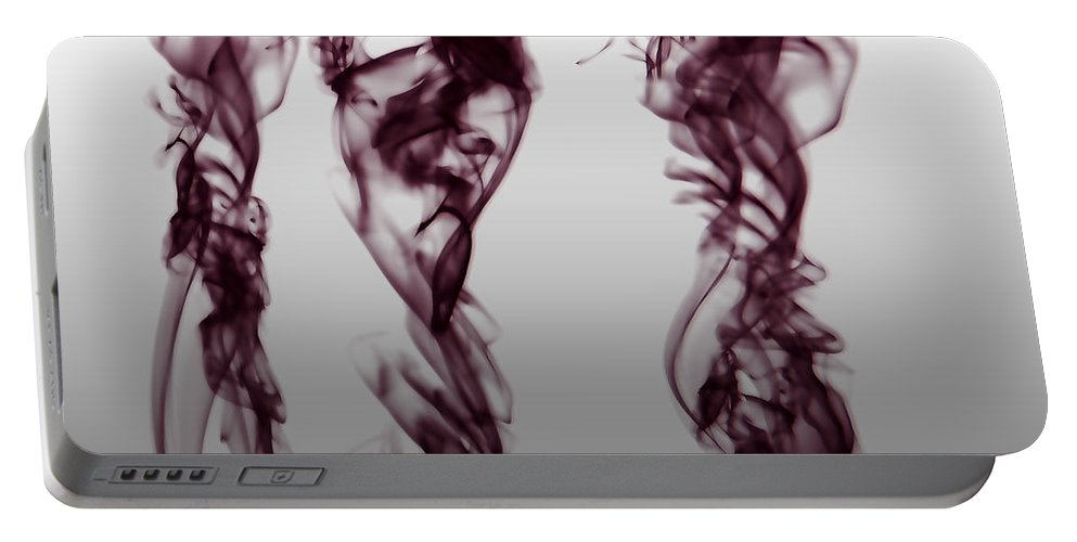 Clay Portable Battery Charger featuring the digital art Nueroses by Clayton Bruster