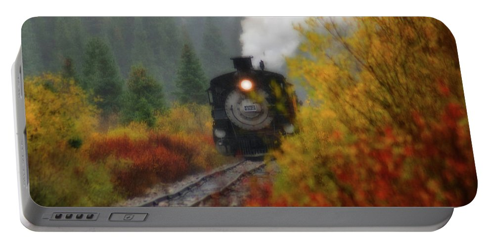 Colorado Portable Battery Charger featuring the photograph Number 482 by Steve Stuller