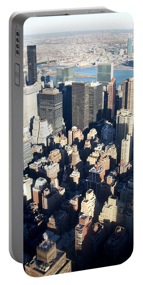 Nyc Portable Battery Charger featuring the photograph Nyc 4 by Anita Burgermeister