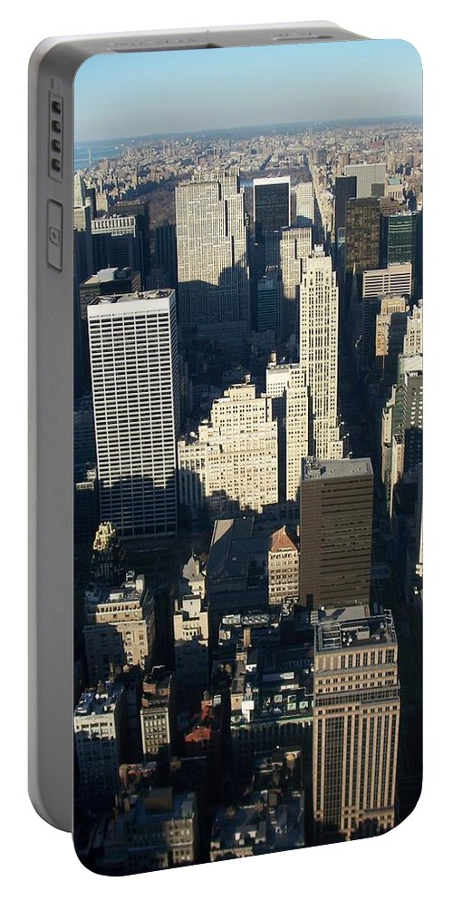 Nyc Portable Battery Charger featuring the photograph Nyc 5 by Anita Burgermeister