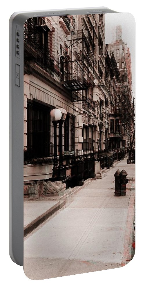 Digital Portable Battery Charger featuring the photograph Nyc Neighborhood Series by Joseph Paulino