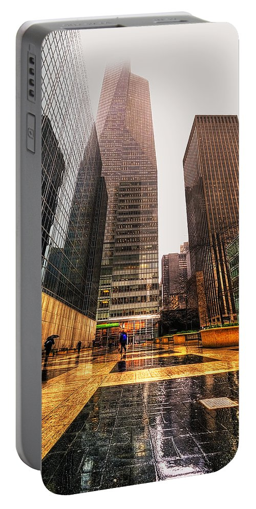 America Portable Battery Charger featuring the photograph NYC by Svetlana Sewell