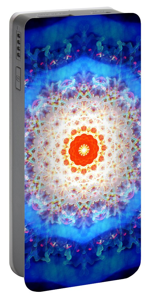 Deep Portable Battery Charger featuring the digital art Oa-1231 by Standa1one