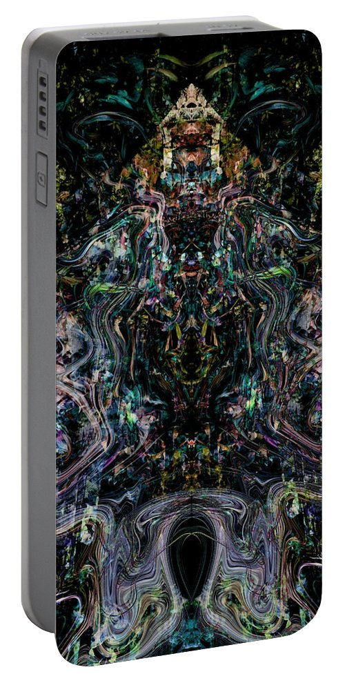 Deep Portable Battery Charger featuring the digital art Oa-1912 by Standa1one
