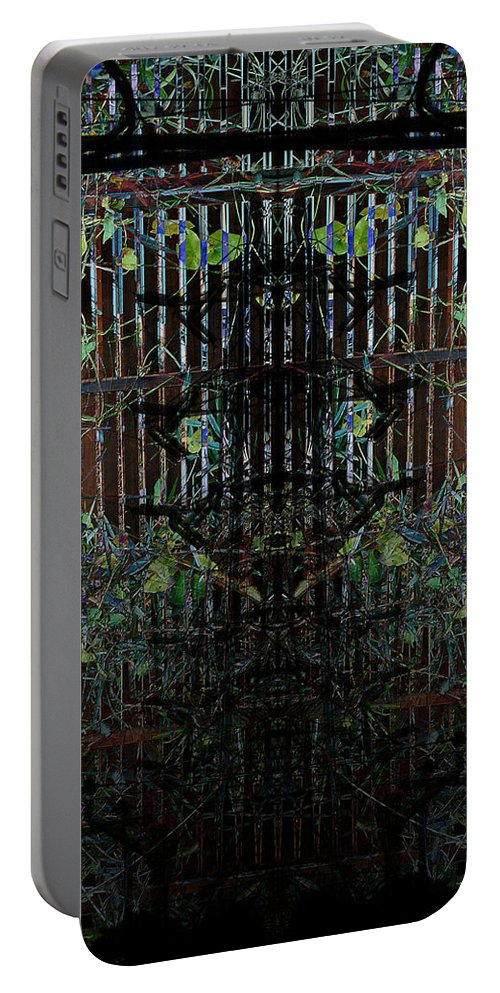 Deep Portable Battery Charger featuring the digital art Oa-1921 by Standa1one