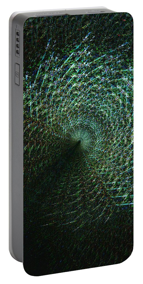Deep Portable Battery Charger featuring the digital art Oa-1922 by Standa1one