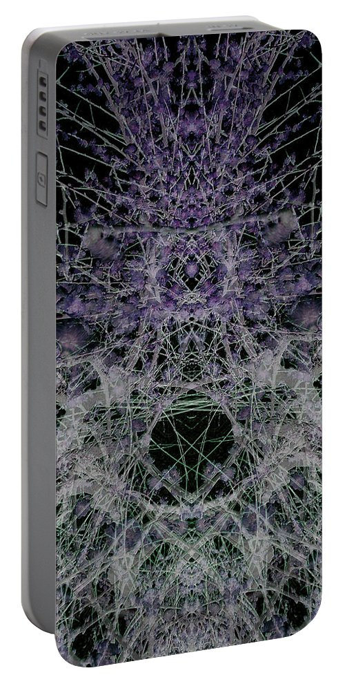 Deep Portable Battery Charger featuring the digital art Oa-1964 by Standa1one