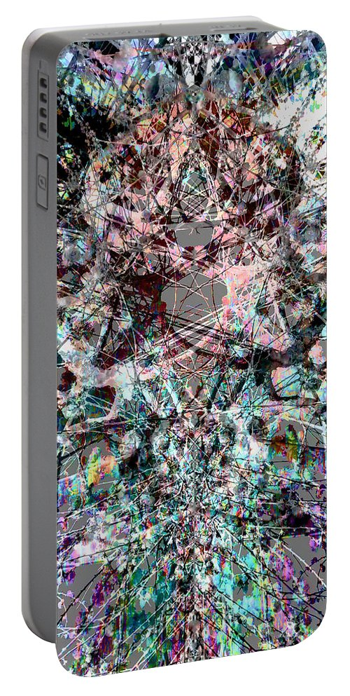 Deep Portable Battery Charger featuring the digital art Oa-1966 by Standa1one