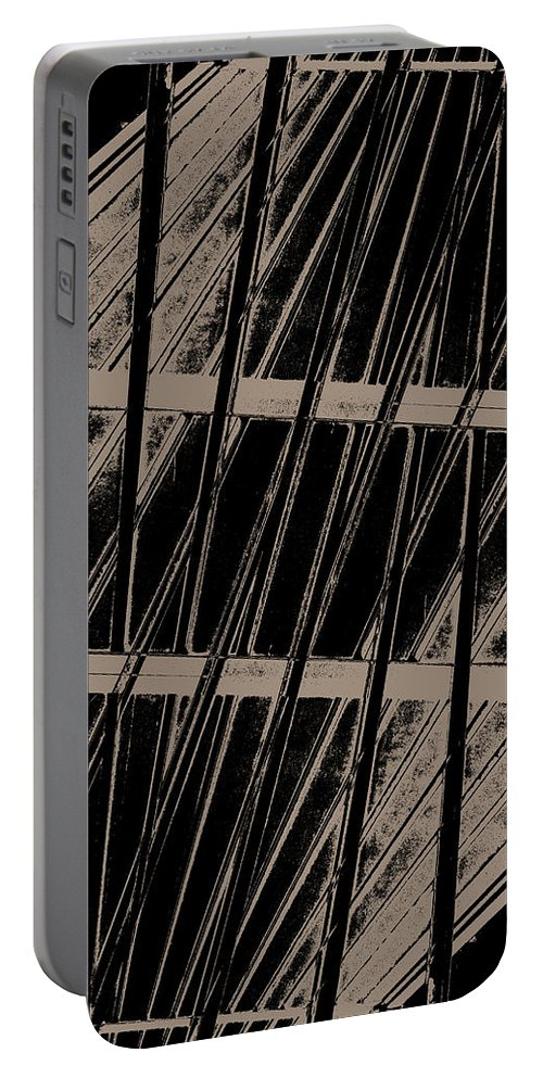 Deep Portable Battery Charger featuring the digital art Oa-1986 by Standa1one
