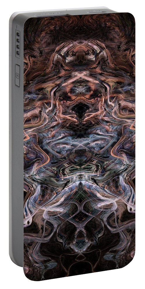 Deep Portable Battery Charger featuring the digital art Oa-4763 by Standa1one