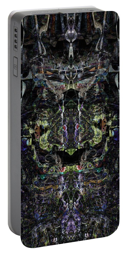 Deep Portable Battery Charger featuring the digital art Oa-4857 by Standa1one