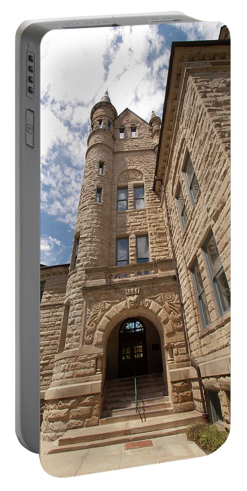 Oberlin Portable Battery Charger featuring the photograph Oberlin College by Diane Schuler