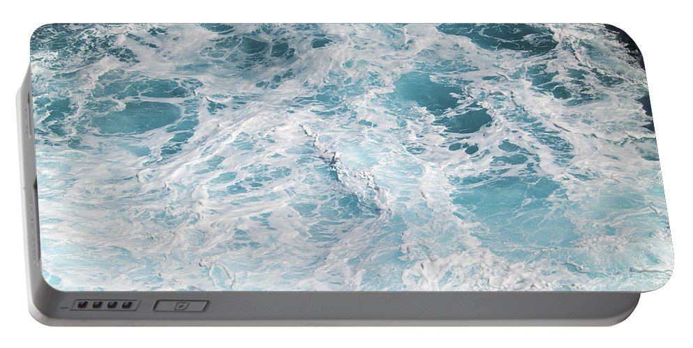 Fine Art Photography Portable Battery Charger featuring the photograph Ocean Abstract by Patricia Griffin Brett