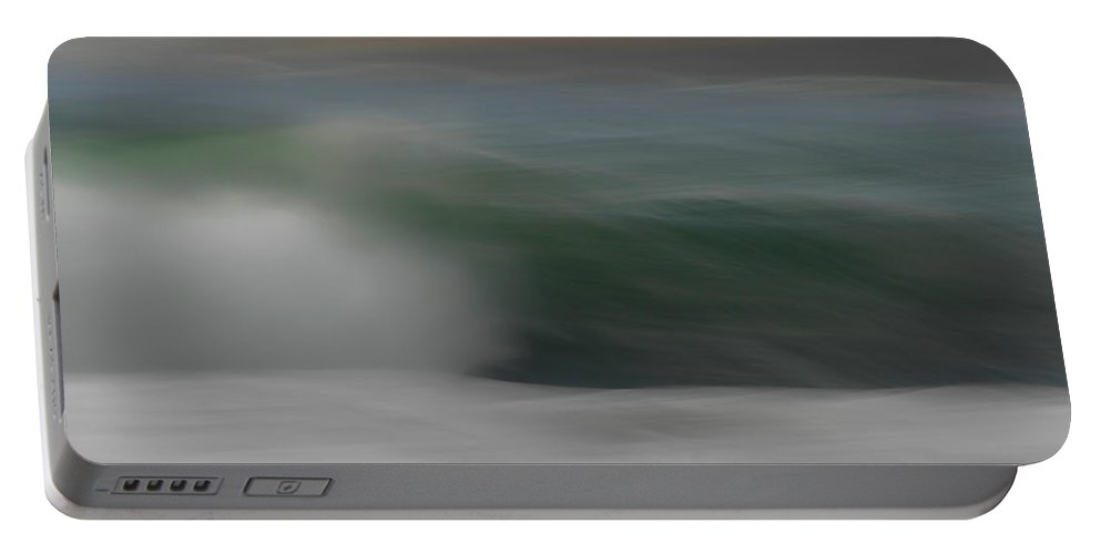 Ocean Portable Battery Charger featuring the photograph Ocean Breeze by Donna Blackhall