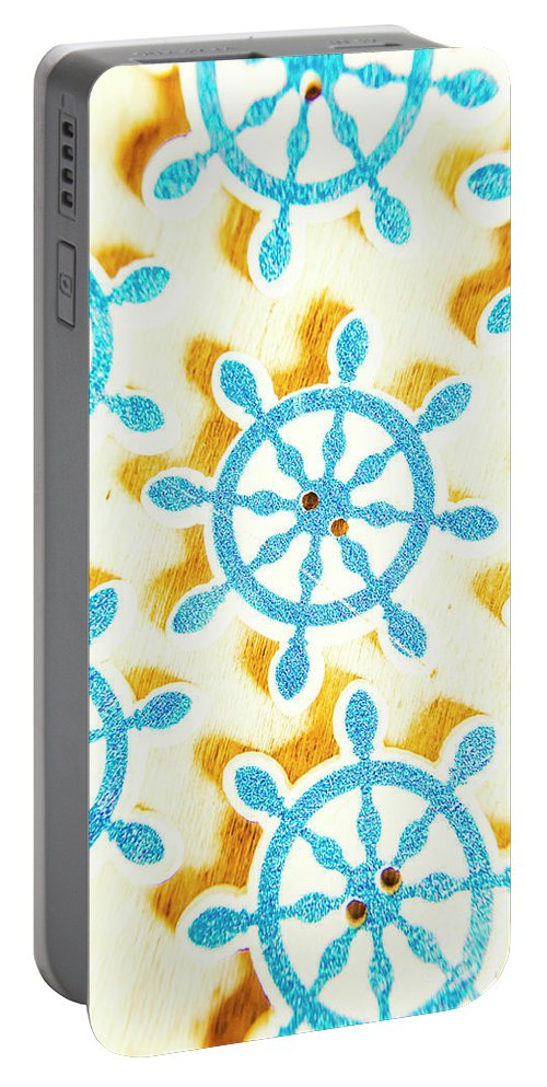 Yacht Portable Battery Charger featuring the photograph Ocean Circles by Jorgo Photography - Wall Art Gallery