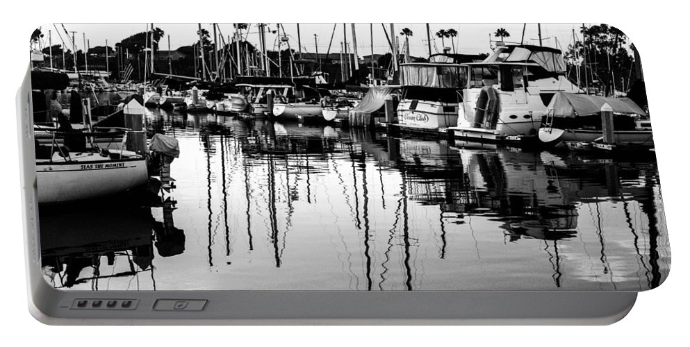 Oceanside Portable Battery Charger featuring the photograph Oceanside Harbor by Misty Tienken