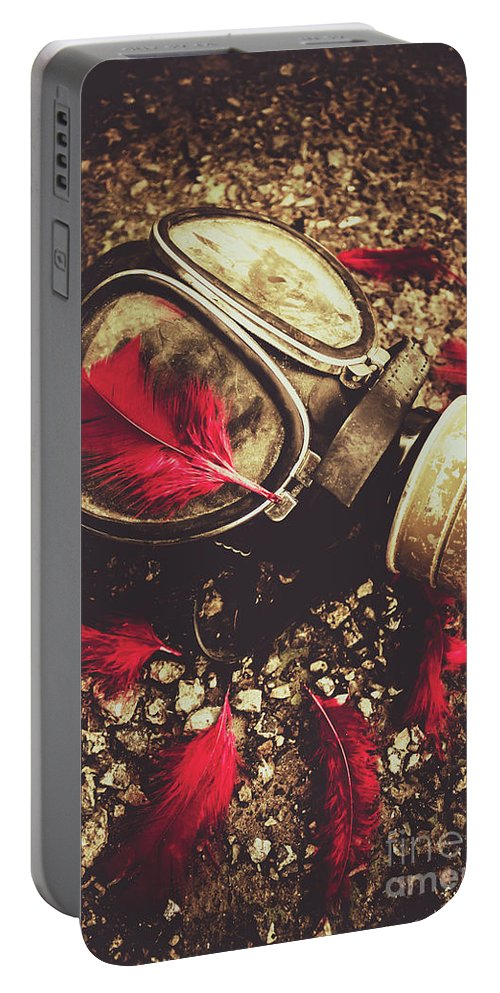 Gas Portable Battery Charger featuring the photograph Ode To The Fallen by Jorgo Photography - Wall Art Gallery